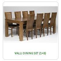 VALLI DINING SET (1+8)